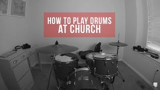 How To Play Any Worship Song On Drums