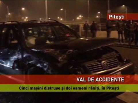 Val de accidente, pe șoselele din țară