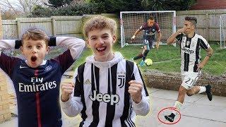 NEYMAR vs DYBALA FOOTBALL CHALLENGE!!