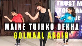 Maine Tujhko Dekha Dance Choreography   Golmaal Again   Vicky Patel Tutorial   Bollywood Hiphop