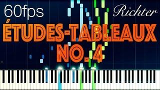 Études-Tableaux, Op. 33 No. 4, Richter // RACHMANINOFF