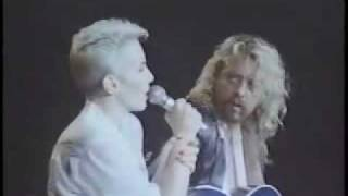 Eurythmics  Who's That Girl?  Acoustic Performance Live Revenge Tour 1987