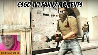 CSGO: 1v1 with Twitch Gaming gone Wrong and Raging!!!