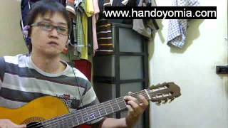 The Lazy Song - Bruno Mars - FingerStyle Guitar Solo