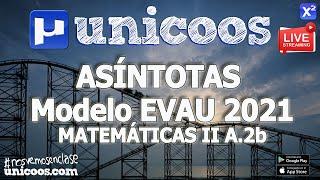 Imagen en miniatura para LIVE!!! Modelo EvAU 2021 - Matemáticas II 08 - Ejercicio 2.Ab - Asíntotas