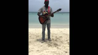 Cottage in Negril cover by Negril beach singer Donnavon Dalrymple
