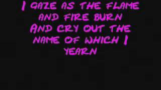 W.A.S.P - Sleeping In The Fire Lyrics.WMV