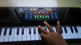 How to put kathi theme music in keyboard