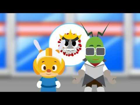 新型冠狀肺炎 「戴了王冠小刺球 」動畫宣導影片完整版 - YouTube