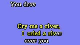 DK045 13   London, Julie   Cry Me A River [karaoke]