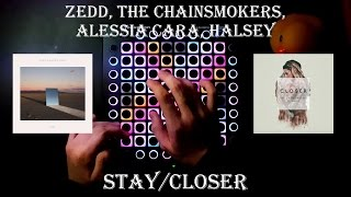 Zedd, The Chainsmokers, Alessia Cara, Halsey - Stay / Closer l Launchpad Pro Cover + Project File