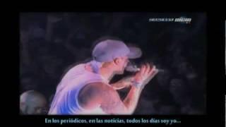Marilyn Manson ft Eminem - The Way I Am subtitulado al español [Live, España-Barcelona]