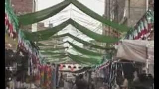 Sona Aya Tay Saj Gayi Galian Bazar Naat With Decoration In Pirmahal.flv