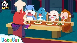 【New】Little Panda's Magical Peas | Devil King's Sky Castle | Math Kingdom Adventure 10 | BabyBus