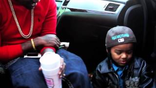 Lil Phat Hangs With His # 1 Fan & Makes Him Sing MIndLess Behavior Gutta TV