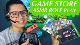 [ASMR] Game Store Role Play! (Games & Tingles!)