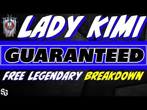 Free Legendary event! Is Lady Kimi worth it? RAID SHADOW LEGENDS