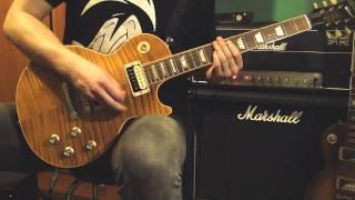 Slash - Bad Rain feat. Myles Kennedy (FULL guitar cover) HD