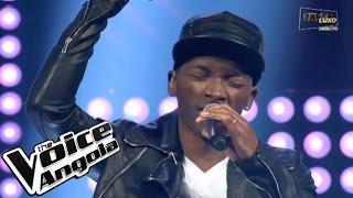 """Luis Sebastian com """"Palé Palé"""" / The Voice Angola 2015 / Show ao Vivo 3"""