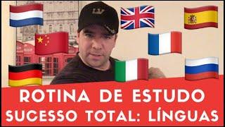 Rotina De Estudo: Sucesso Total Com Línguas (Gabriel Poliglota)