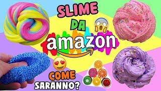 SLIME COMPRATI DA AMAZON! COME SARANNO!? Iolanda Sweets