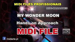 ♬ Midi file  - MY WONDER MOON - Hands on Approach