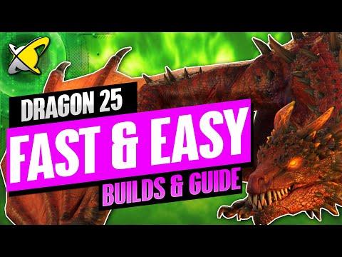 EASY DRAGON 25 SPEED RUN!! | Champion Builds & Guide | RAID: Shadow Legends