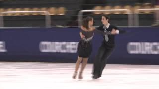 12 S. SFORZA / F. FIORETTI (ITA) - ISU JGP Courchevel Junior Ice Dance Short Dance