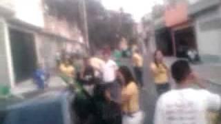 Copa do Mundo, comemoração com o som do gol