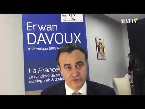 Entretien avec  Erwan Davoux, candidat «Les Républicains» aux élections législatives pour la 9e circonscription des Français de l'Etranger
