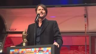 SUEDE speech Godlike Genius NME Award Brixton Academy