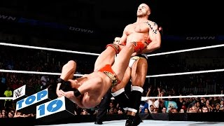WWE Top 10 mejores momentos de Smackdown (9 de junio de 2016)