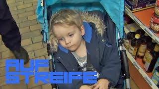 Kind alleine im Supermarkt gefunden: Wo ist seine Tante? | Auf Streife | SAT.1 TV