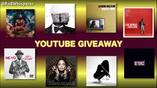 YouTube Giveaway - Enter to win a FREE R&B album!