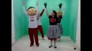 Dia de Festa - Aline Barros - Turma da Alegria e Tia Fran no Programa Espaço Criança