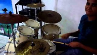 Video Aula de Bateria - Meu Jesus tu és bom - 25 Harpa Cristã
