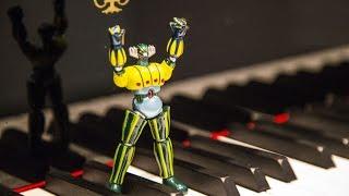 "JEEG ROBOT - SIGLA - HD Piano Cover - by ""HIROSHI"" Fabrizio Spaggiari - Magnifico"
