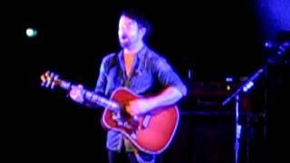 David Cook Partial Fade Into Me Acoustic (11/7/11) Cincinnati