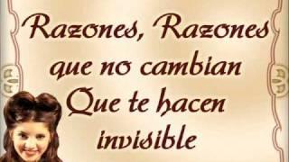 Razones - Sueña Conmigo - Con Letra - Marcia Lima