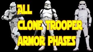 All Clone Armor Phases