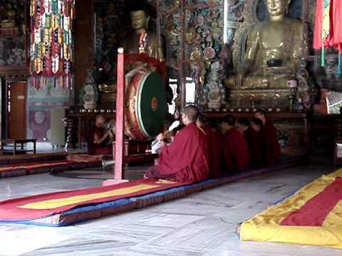 Shechen monastery Bodhnath.