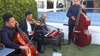 Demons ( Piano - Violin - Cello - Bass ) String Quartet - MuzikQlass @ The Lake Hotel, Tagaytay