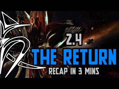 2.4 THE RETURN update RECAP in 3 mins [Elite Dangerous]