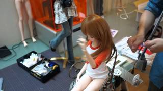 Pulley System Smart Doll Prototype