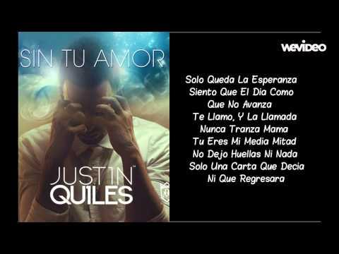 Sin Tu Amor Carpe Diem Justin Quiles Letra Reggaeton 2014