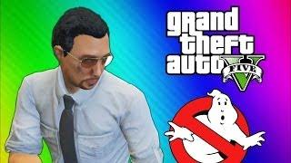 GTA 5 Glitches & Mods - FIB Building Mission, Ghostbusters, Big Poop, Elevator Shaft (GTA 5 Online) width=