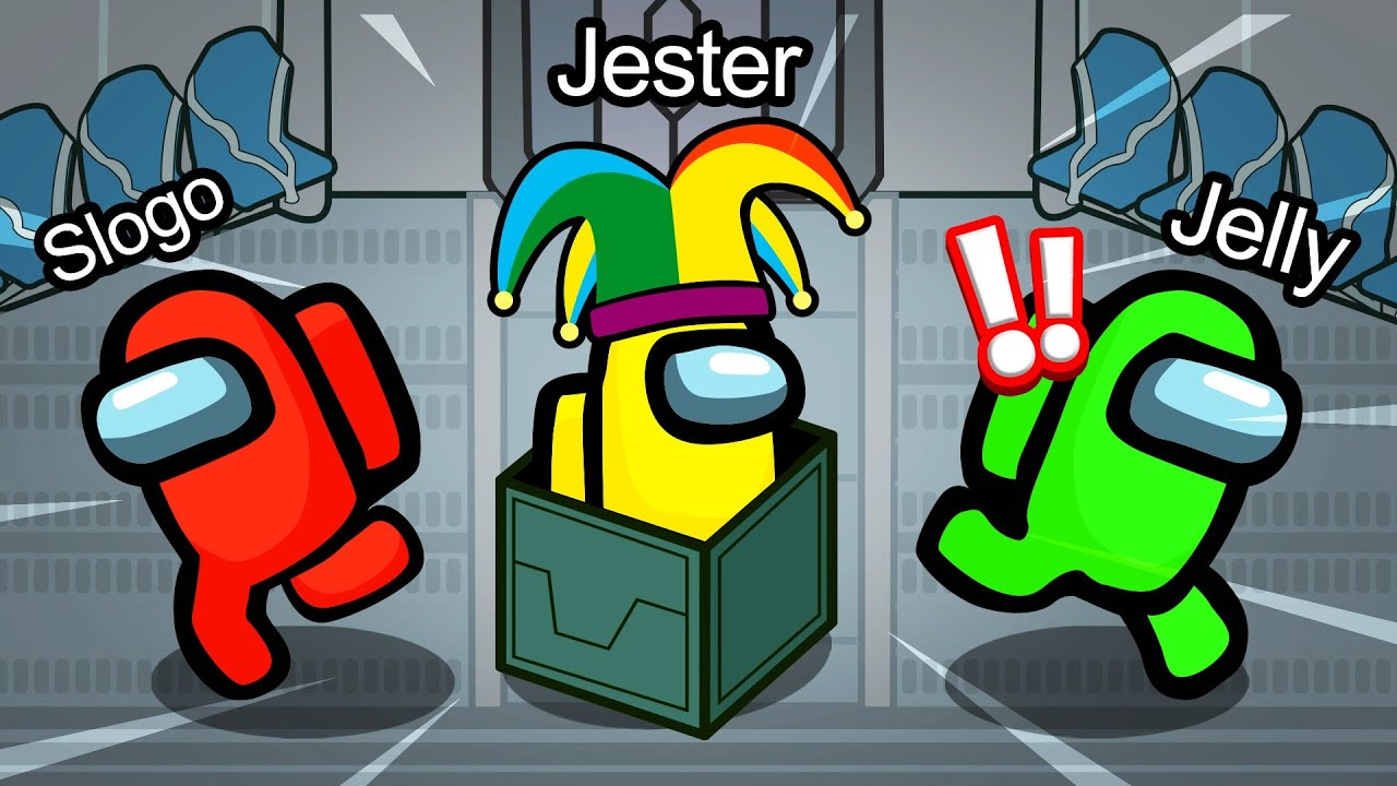 Jelly - PRANKING Crewmates As A JESTER In AMONG US! (NEW)