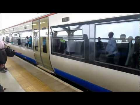 High speed Bombardier train in Johannesburg, South Africa – Gautrain