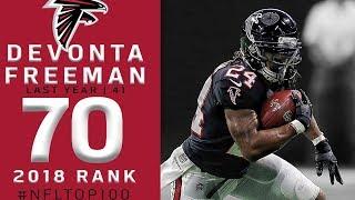 #70: Devonta Freeman (RB, Falcons)   Top 100 Players of 2018   NFL