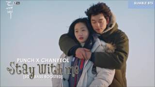 [3D+BASS BOOSTED] PUNCH X CHANYEOL - STAY WITH ME (GOBLIN OST) | bumble.bts